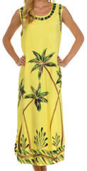Sakkas Bali Palm Tank Dress