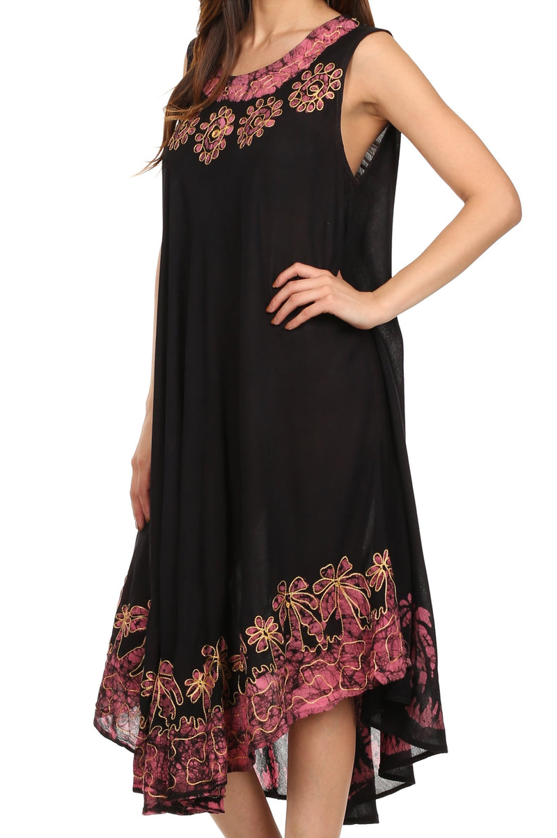 Sakkas Sundari Caftan Tank Dress / Cover Up