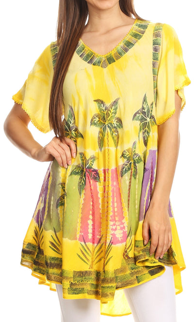 Sakkas Alohanani Caftan Dress / Cover Up