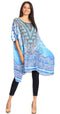 Sakkas Sira Women's Casual Short Sleeve Loose Pullover Mid-Long Oversize Top Tunic