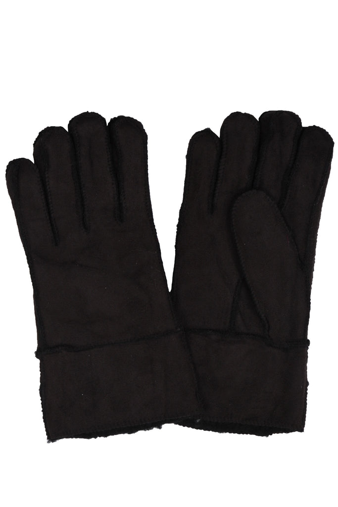 Sakkas Men's Sueded Fabric Warm Winter Gloves