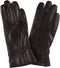 Sakkas Syle Womens Touch Screen Real Leather Three Button Fitted Gloves
