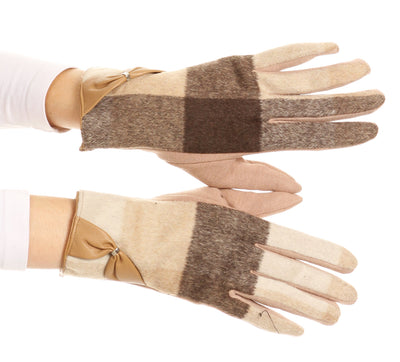 group-17102-tan (Sakkas Liya Classic Warm Driving Touch Screen Capable Stretch Gloves Fleece Lined)