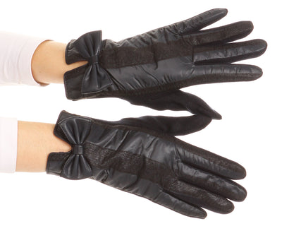 group-17103-navy (Sakkas Liya Classic Warm Driving Touch Screen Capable Stretch Gloves Fleece Lined)