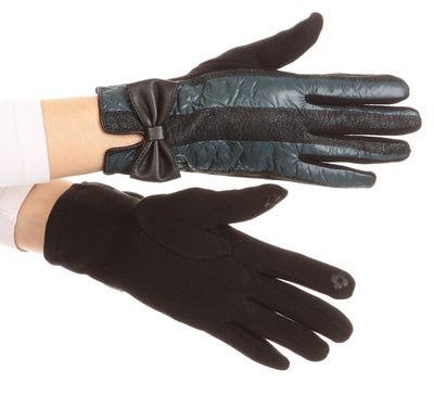 group-17103-teal (Sakkas Liya Classic Warm Driving Touch Screen Capable Stretch Gloves Fleece Lined)