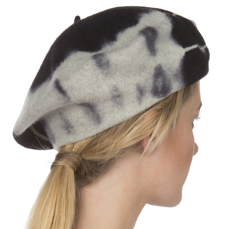 Sakkas Willow Wool Slouch Beret