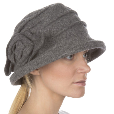 Sakkas Victoria Rose Wool Hat