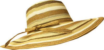 Sakkas Tropical Multi Stripe Floppy Hat