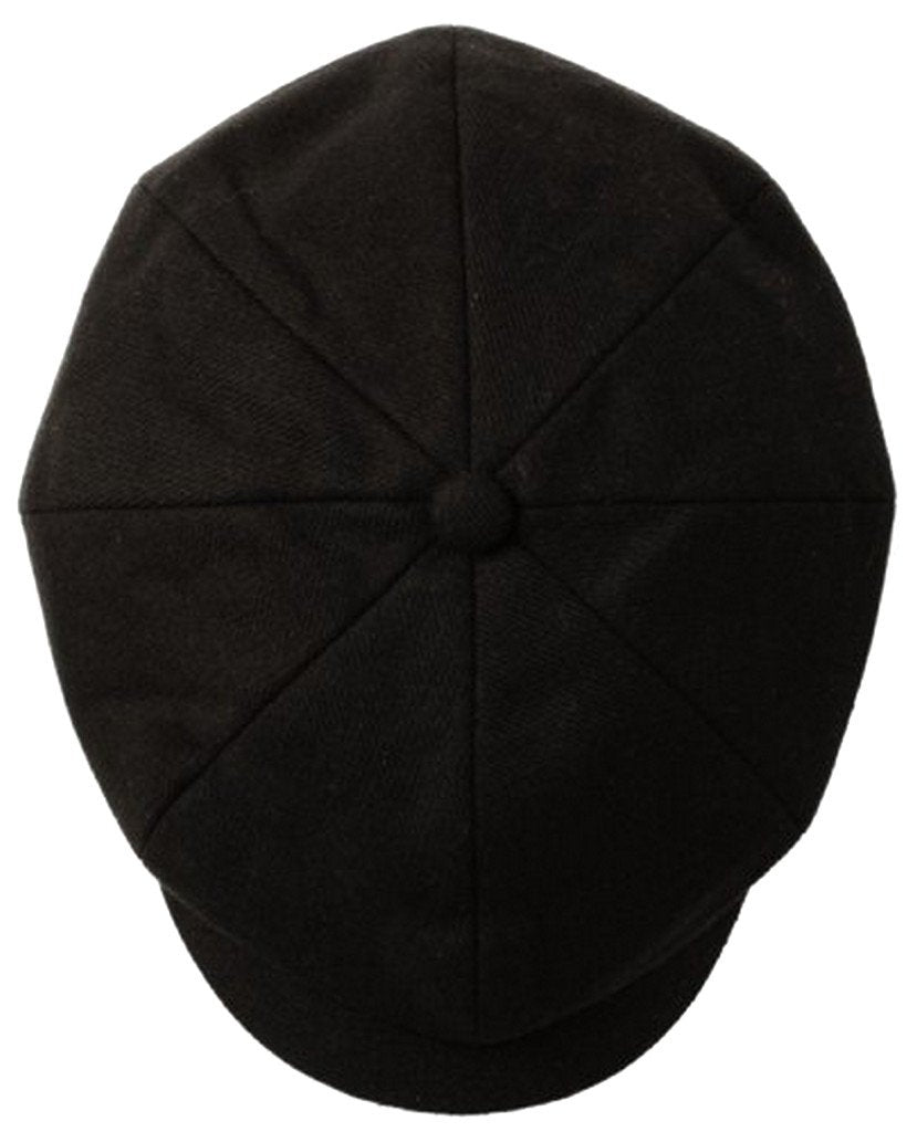 714f582b4da Unisex Wool Newsboy   Cabbie Winter Hat   Cap ( 3 Colors ) - Sakkas ...