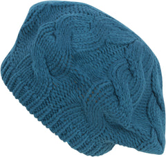 Sakkas Cable Knitted Light Slouch Fashion Beanie /Beret /Winter Hat