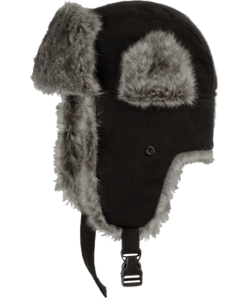 Sakkas Unisex Faux Fur Lined Trooper Hat