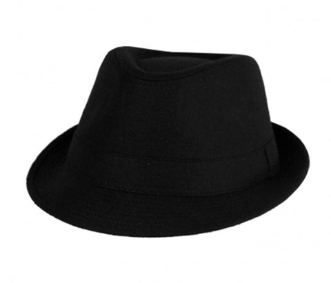 Sakkas Plain Color Unisex Fedora Hat