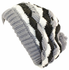 Warm Knitted Open Weave Slouch Fashion Beanie /Beret /Winter Hat ( 8 Colors )