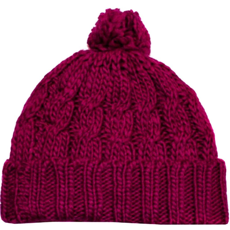 Sakkas Pom Pom Cable Knit Cuffed Winter Beanie/ Hat/ Cap ( 8 Colors )