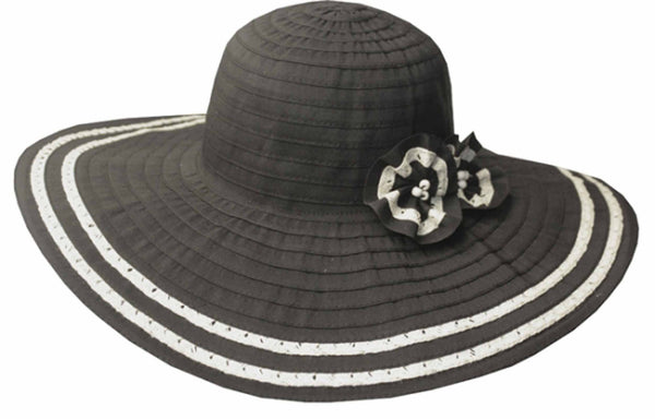 Womens 100/% Paper Straw Ribbon Bow Accent Cloche Bucket Bell Summer Hat