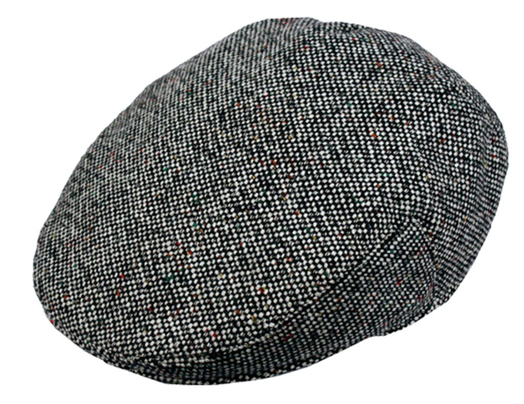 8ec10a089 Sakkas Tweed Wool Blend Ivy Golf Driver Flat Irish Cap