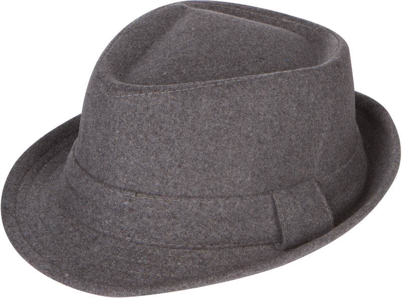 Sakkas Unisex Structured Wool Fedora Winter Hat ( 3 Colors )