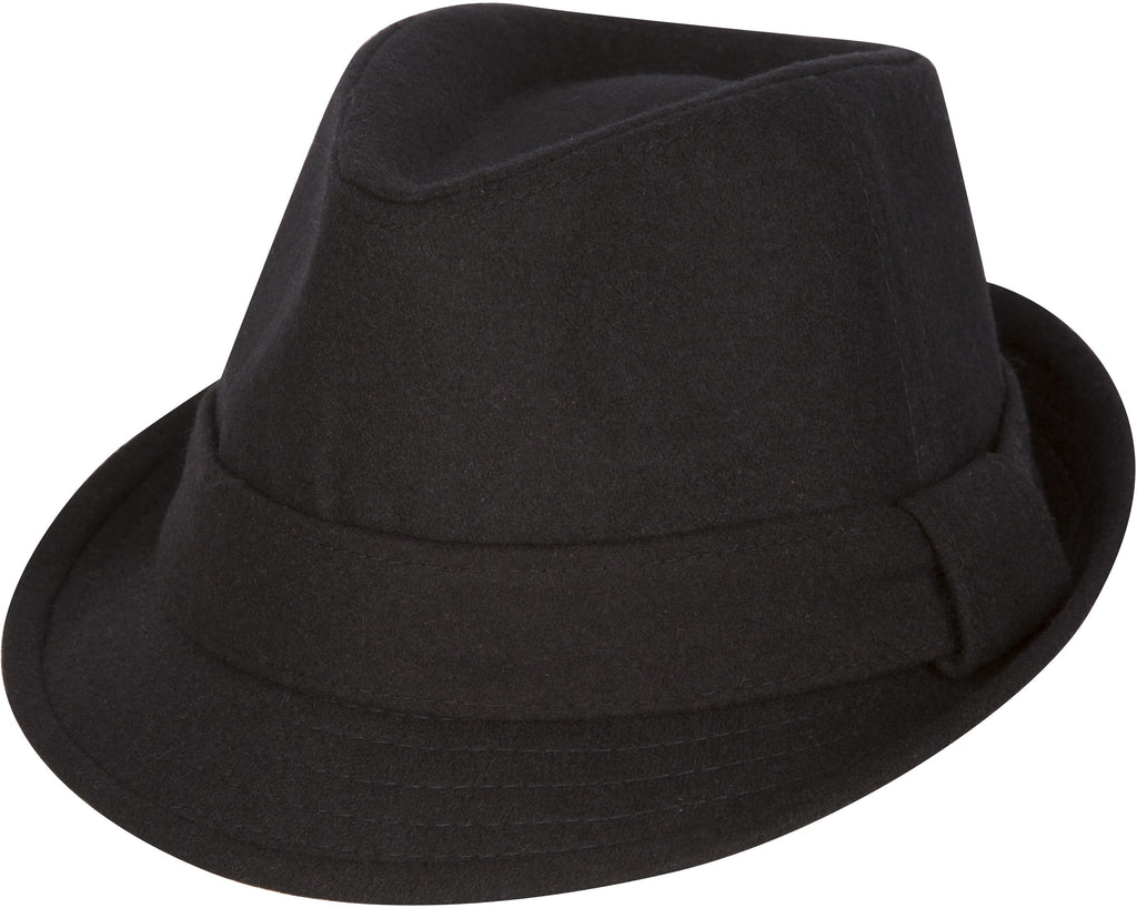 Sakkas Original Unisex Structured Wool Fedora Hat