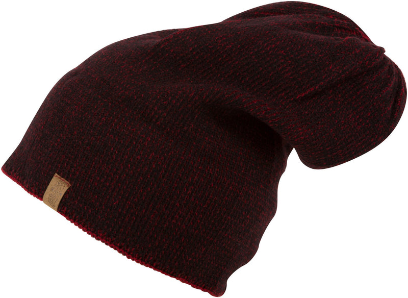 Sakkas Salt & Pepper Unisex Over-Sized Knit Beanie