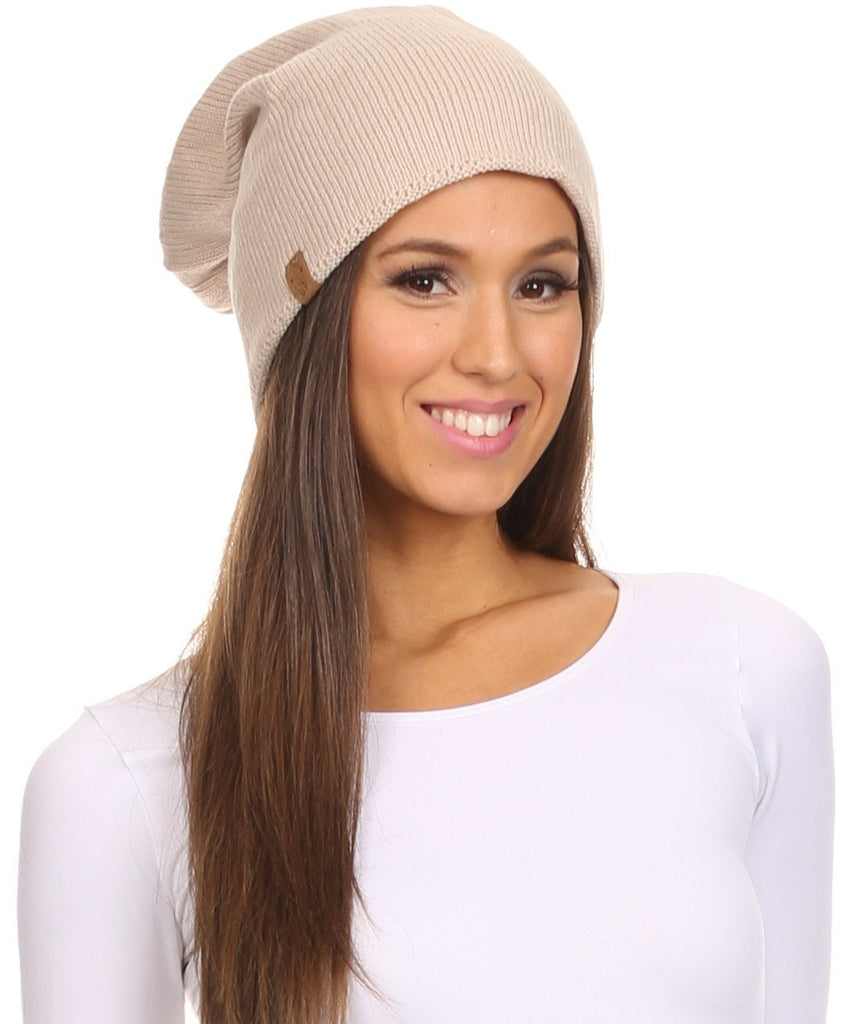 Sakkas Jayvee Lightweight Breathable Warm Tall Long Slouchy Winter Hat Cap Beanie