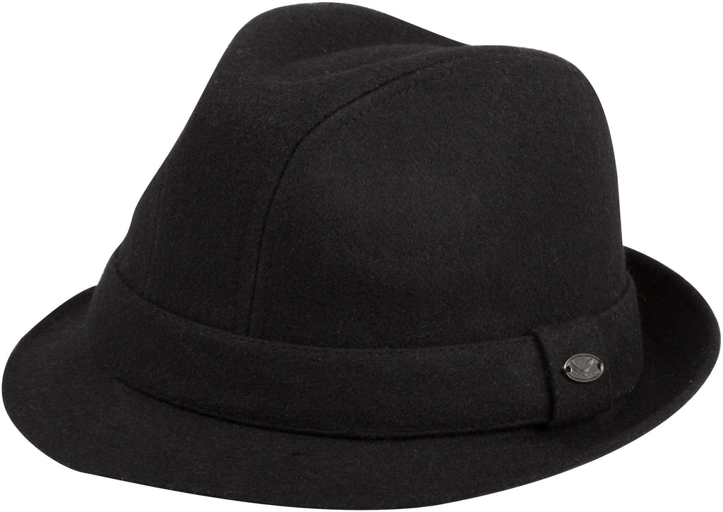 Sakkas Harry Classic Unisex Structured Wool Fedora Hat