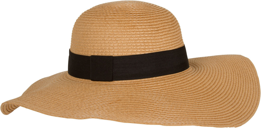 Sakkas Sally Wide Brimmed Floppy Derby Hat With Ribbon