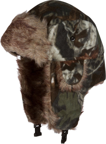 Sakkas Yehuda Unisex Camouflage Faux Fur Lined Chin Strap Winter Trooper Hat