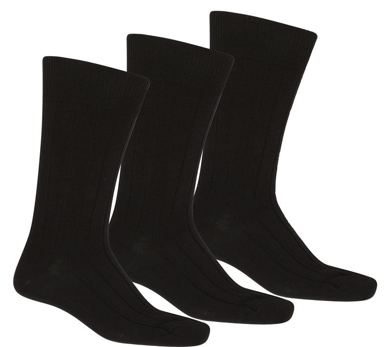 Sakkas Men's Pima Cotton Dress Socks Value Pack 10-13