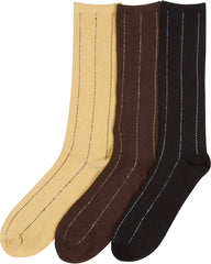 Sakkas Aayu Men's Classic Patterned and Colorful Design Dress Socks Asst 3-packs