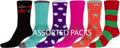 Sakkas Super Soft Anti-Slip Fuzzy Crew Socks Value Assorted 6-Pack#color_16802-asst