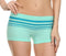 Sakkas Women's Seamless Stretch Boy Short Panties (6 Pack)#color_ContrastStripe