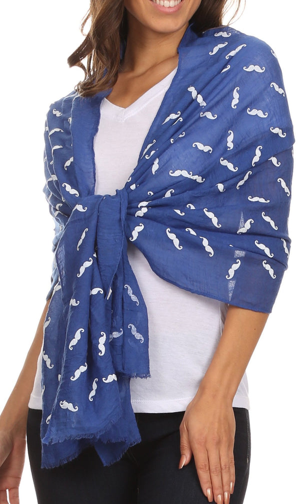 Sakkas Hillary summer breeze lightweight flowing sheer gauze wrap scarf