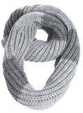 Sakkas Life is Beautiful Knit Infinity Scarf