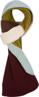 Sakkas Miller Unisex Long Ribbed Knit Aztec Winter Scarf