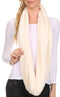 Sakkas Abhy  Soft Fall Winter Furry Infinity Wrap Scarf