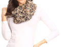 Sakkas Abhy  Soft Fall Winter Furry Infinity Wrap Scarf#color_ 2-Grey