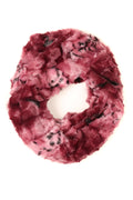 Sakkas Abhy  Soft Fall Winter Furry Infinity Wrap Scarf#color_ 3-Berry