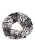 Sakkas Abhy  Soft Fall Winter Furry Infinity Wrap Scarf#color_ 3-Grey