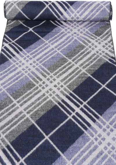 group-YC16133-Navy (Sakkas Amerigo Patterned Colorful Super Soft and Warm Casual Everyday Scarf Unisex)