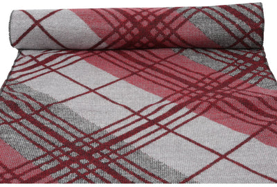 group-YC16133-Raspberry (Sakkas Amerigo Patterned Colorful Super Soft and Warm Casual Everyday Scarf Unisex)