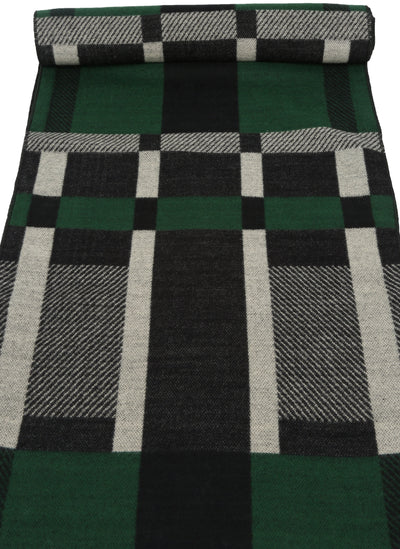 group-YC16134-Green (Sakkas Amerigo Patterned Colorful Super Soft and Warm Casual Everyday Scarf Unisex)