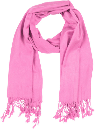 "group-Baby Pink (Sakkas 78"" X 28"" Rayon from Bamboo Soft Solid Pashmina Feel Shawl / Wrap / Stole)"