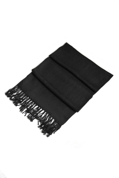 "group-Black (Sakkas 78"" X 28"" Rayon from Bamboo Soft Solid Pashmina Feel Shawl / Wrap / Stole)"