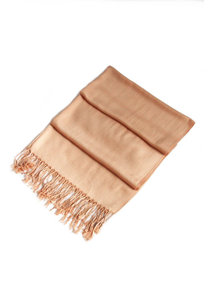 "group-Camel (Sakkas 78"" X 28"" Rayon from Bamboo Soft Solid Pashmina Feel Shawl / Wrap / Stole)"