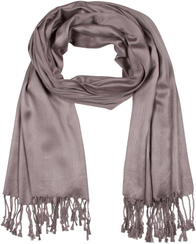 "group-Grey (Sakkas 78"" X 28"" Rayon from Bamboo Soft Solid Pashmina Feel Shawl / Wrap / Stole)"