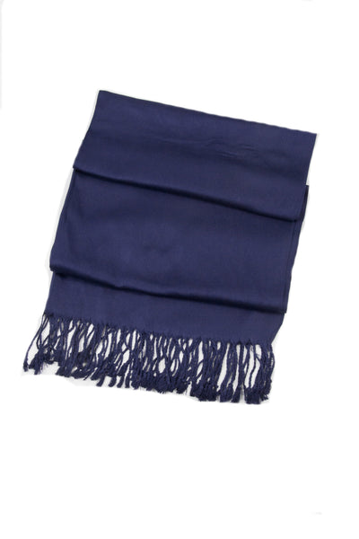 "group-Navy (Sakkas 78"" X 28"" Rayon from Bamboo Soft Solid Pashmina Feel Shawl / Wrap / Stole)"