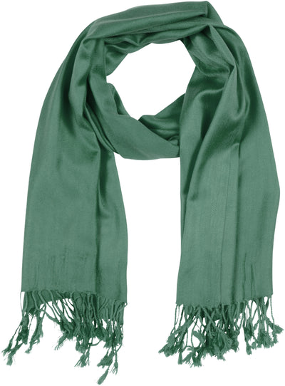 "group-Sea Green (Sakkas 78"" X 28"" Rayon from Bamboo Soft Solid Pashmina Feel Shawl / Wrap / Stole)"