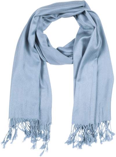 "group-Steel Blue (Sakkas 78"" X 28"" Rayon from Bamboo Soft Solid Pashmina Feel Shawl / Wrap / Stole)"