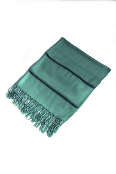 "group-Teal (Sakkas 78"" X 28"" Rayon from Bamboo Soft Solid Pashmina Feel Shawl / Wrap / Stole)"