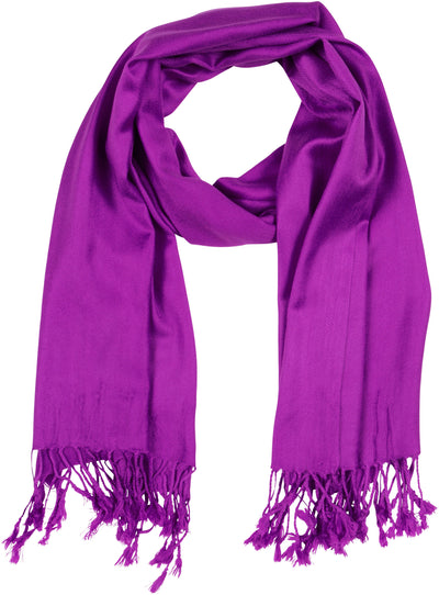 "group-Violet (Sakkas 78"" X 28"" Rayon from Bamboo Soft Solid Pashmina Feel Shawl / Wrap / Stole)"